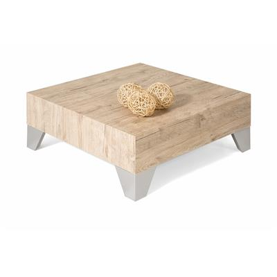 Square Coffee table, Evolution 60, Oak