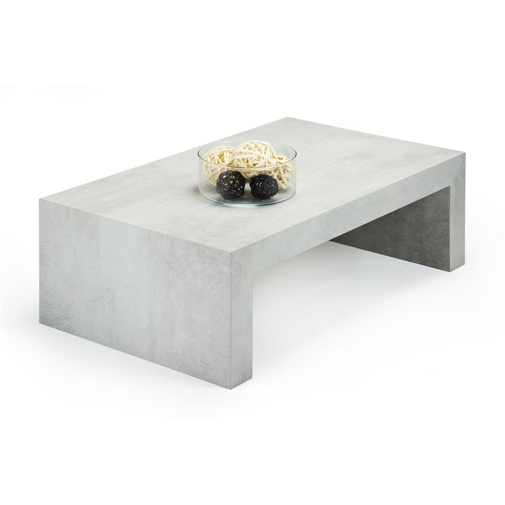 Coffee table, First H30, Grey Concrete