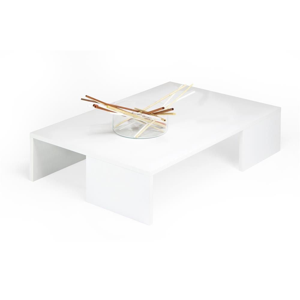 Coffee table, Rachele, White Ash