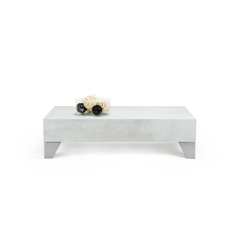 Coffee table, Evolution 90, Grey Concrete