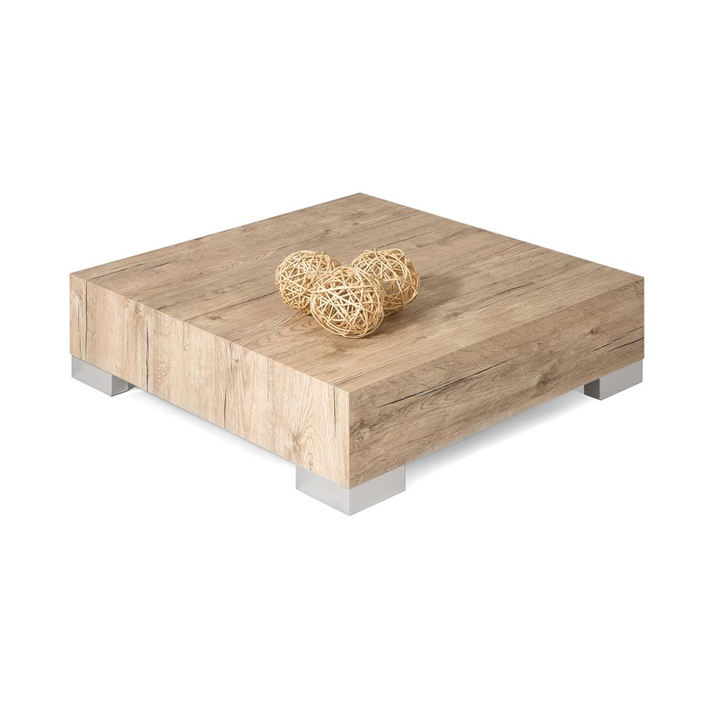 Small coffee table, iCube 60, Oak