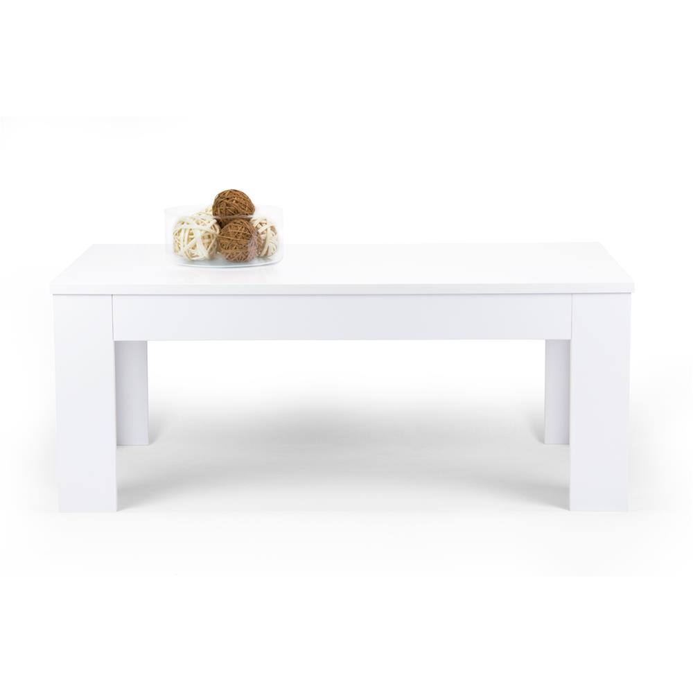 Coffee table, Easy, Glossy White