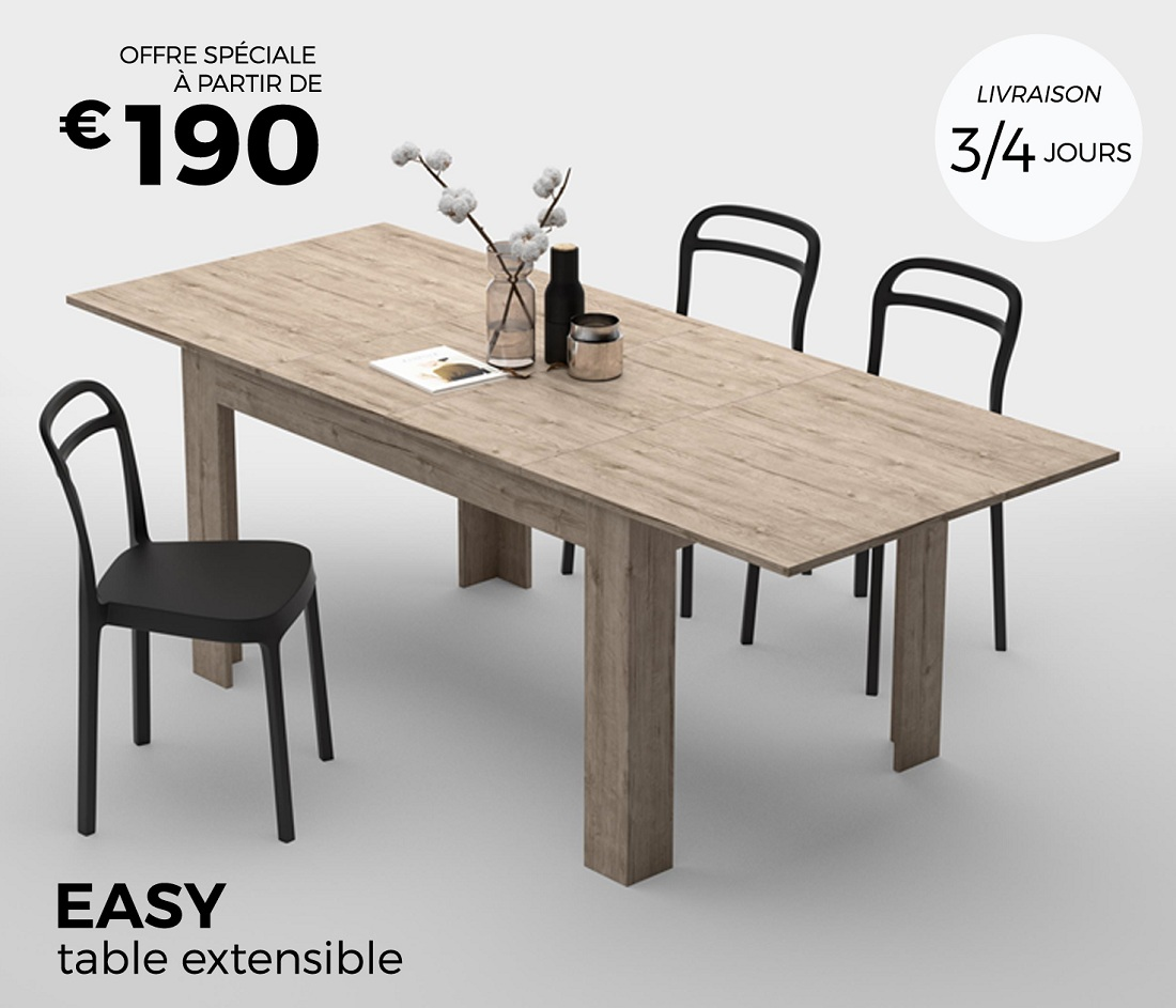 MobiliFiver Table Extensible